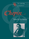 The Cambridge Companion to Chopin (eBook)
